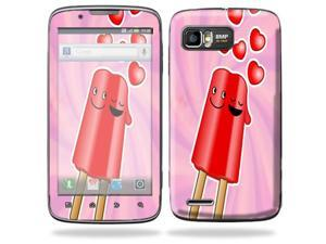 MightySkins Protective Skin Decal Cover for Motorola Atrix 2 II (version 2) Cell Phone Sticker Popsicle Love