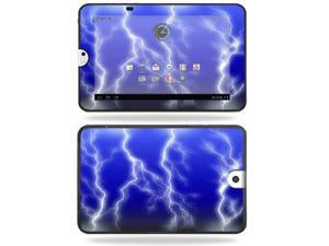 Mightyskins Protective Vinyl Skin Decal Cover for Toshiba Thrive 10.1 Android Tablet wrap sticker skins Lightning Storm