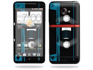 Skin Decal cover for HTC Evo 4G LTE Sprint Sticker sticker Cassette Tape
