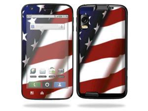 Mightyskins Protective Vinyl Skin Decal Cover for Motorola Atrix 4G Cell Phone wrap sticker skins  - American Pride
