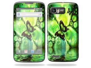 MightySkins Protective Skin Decal Cover for Motorola Atrix 2 II (version 2) Cell Phone Sticker Mystical Butterfly
