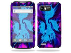 MightySkins Protective Skin Decal Cover for Motorola Atrix 2 II (version 2) Cell Phone Sticker Fractal Abstract