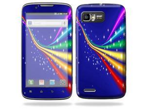 MightySkins Protective Skin Decal Cover for Motorola Atrix 2 II (version 2) Cell Phone Sticker Rainbow Twist