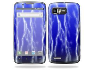 MightySkins Protective Skin Decal Cover for Motorola Atrix 2 II (version 2) Cell Phone Sticker Lightning Storm