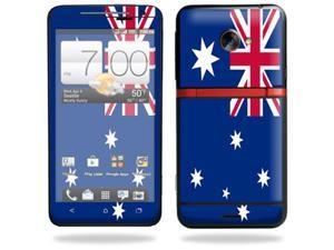 Mightyskins Protective Vinyl Skin Decal Cover for HTC Evo 4G LTE Sprint Cell Phone wrap sticker skins Australian flag