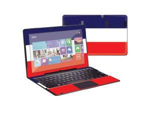 """Mightyskins Protective Skin Decal Cover for Samsung ATIV Smart PC Pro 700T with 11.6"""" screen wrap sticker skins France Flag"""