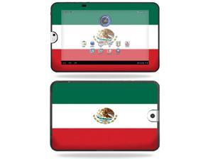 Mightyskins Protective Vinyl Skin Decal Cover for Toshiba Thrive 10.1 Android Tablet wrap sticker skins Mexican Flag