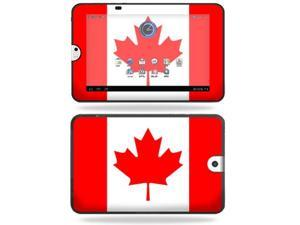 Mightyskins Protective Vinyl Skin Decal Cover for Toshiba Thrive 10.1 Android Tablet wrap sticker skins Canadian Pride
