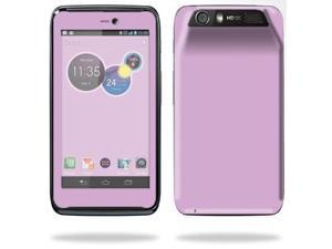 Mightyskins Protective Skin Decal Cover for Motorola Atrix HD Cell Phone AT&T wrap sticker skins Glossy Purple