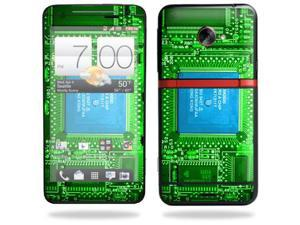 Mightyskins Protective Skin Decal Cover for HTC Evo 4G LTE Sprint Cell Phone T-Mobile wrap sticker skins Circuit Board