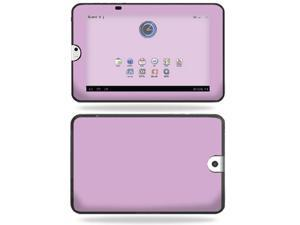 Mightyskins Protective Vinyl Skin Decal Cover for Toshiba Thrive 10.1 Android Tablet wrap sticker skins Glossy Purple
