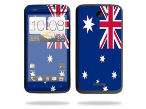 Mightyskins Protective Skin Decal Cover for HTC One X+ Plus Cell Phone AT&T wrap sticker skins Australian flag