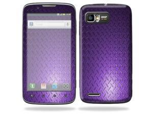 MightySkins Protective Skin Decal Cover for Motorola Atrix 2 II (version 2) Cell Phone Sticker Purple Dia Plate