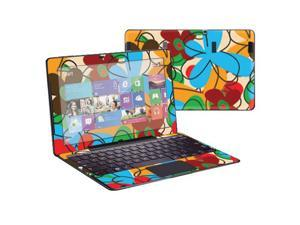 """Mightyskins Protective Skin Decal Cover for Samsung ATIV Smart PC Pro 700T with 11.6"""" screen wrap sticker skins Funky Flowers"""