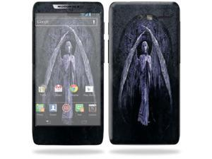MightySkins Protective Skin Decal Cover for Motorola Droid Razr M Cell Phone Sticker Fantasy Angel