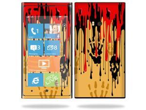 Mightyskins Protective Vinyl Skin Decal Cover for Nokia Lumia 900 4G Windows Phone AT&T Cell Phone wrap sticker skins Dripping Blood