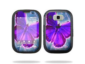 MightySkins Protective Vinyl Skin Decal Cover for Nokia Lumia 900 4G Windows Phone AT&T Cell Phone Sticker Skins Violet Butterfly