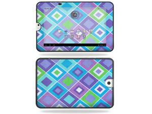 Mightyskins Protective Vinyl Skin Decal Cover for Toshiba Thrive 10.1 Android Tablet wrap sticker skins Pastel Argyle