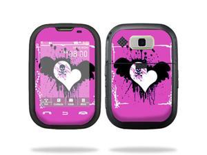 Mightyskins Protective Vinyl Skin Decal Cover for Nokia Lumia 900 4G Windows Phone AT&T Cell Phone wrap sticker skins Poison Heart
