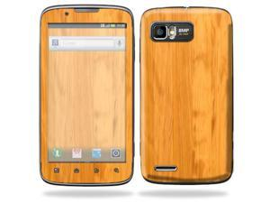 MightySkins Protective Skin Decal Cover for Motorola Atrix 2 II (version 2) Cell Phone Sticker Birch Wood