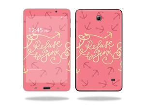 """Mightyskins Protective Vinyl Skin Decal Cover for Samsung Galaxy Tab 4 7"""" Tablet T230 skins wrap sticker skins Refuse To Sink"""
