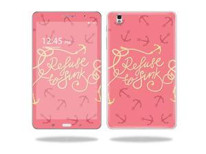 """Mightyskins Protective Vinyl Skin Decal Cover for Samsung Galaxy Tab Pro 8.4"""" T320 Tablet skins wrap sticker skins Refuse To Sink"""