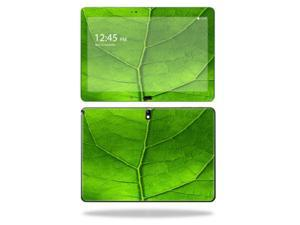 "Mightyskins Protective Vinyl Skin Decal Cover for Samsung Galaxy Note 10.1"" (2nd Gen 2014) skins wrap sticker skins Green Leaf"