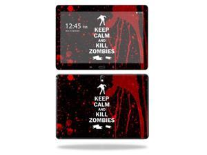 "Mightyskins Protective Vinyl Skin Decal Cover for Samsung Galaxy Note 10.1"" (2nd Gen 2014) skins wrap sticker skins Kill Zombies"