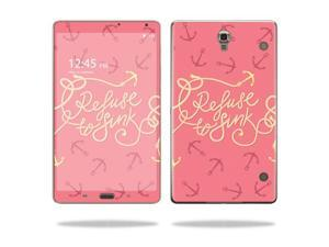 Mightyskins Protective Vinyl Skin Decal Cover for Samsung Galaxy Tab S 8.4 wrap sticker skins Refuse To Sink