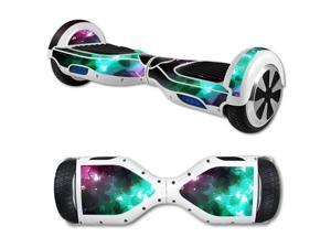 MightySkins Protective Vinyl Skin Decal for Self Balancing Scooter Board mini hover 2 wheel x1 razor wrap cover sticker Glow Stars