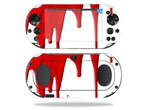 MightySkins Protective Vinyl Skin Decal for Sony PS Vita (Wi-Fi 2nd Gen) wrap cover sticker skins Blood Drip