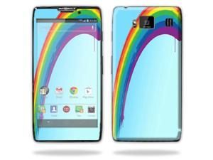 Mightyskins Protective Skin Decal Cover for Motorola Droid Razr Hd & Razr Maxx HD Cell Phone wrap sticker skins Rainbow