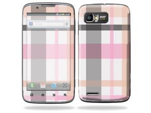Mightyskins Protective Skin Decal Cover for Motorola Atrix 2 II (version 2) Cell Phone Sticker Plaid