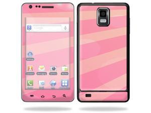 Mightyskins Protective Vinyl Skin Decal Cover for Samsung Infuse 4G Cell Phone wrap sticker skins i997 AT&T - Pink Rays