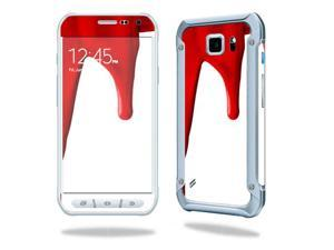 MightySkins Protective Vinyl Skin Decal for Samsung Galaxy S6 Active wrap cover sticker skins Blood Drip