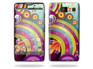 Mightyskins Protective Skin Decal Cover for Motorola Droid Razr Hd & Razr Maxx HD Cell Phone wrap sticker skins Happiness