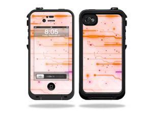 Mightyskins Protective Vinyl Skin Decal Cover for LifeProof iPhone 4 / 4S Case wrap sticker skins Shocked