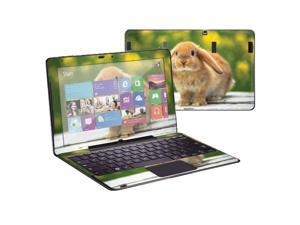 """Mightyskins Protective Skin Decal Cover for Samsung ATIV Smart PC Pro 700T with 11.6"""" screen wrap sticker skins Rabbit"""