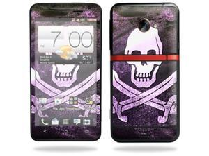Mightyskins Protective Skin Decal Cover for HTC Evo 4G LTE Sprint Cell Phone T-Mobile wrap sticker skins Pirate