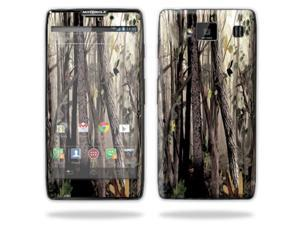 Mightyskins Protective Skin Decal Cover for Motorola Droid Razr Hd & Razr Maxx HD Cell Phone wrap sticker skins Tree Camo