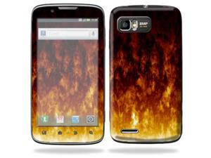 Mightyskins Protective Skin Decal Cover for Motorola Atrix 2 II (version 2) Cell Phone Sticker Firestorm
