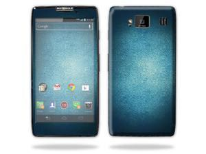 Mightyskins Protective Skin Decal Cover for Motorola Droid Razr Hd & Razr Maxx HD Cell Phone wrap sticker skins Blue Swirls