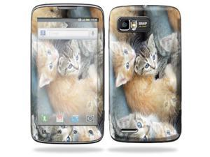 Mightyskins Protective Skin Decal Cover for Motorola Atrix 2 II (version 2) Cell Phone Sticker Kittens