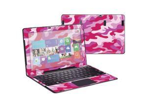 """Mightyskins Protective Skin Decal Cover for Samsung ATIV Smart PC Pro 700T with 11.6"""" screen wrap sticker skins Pink Camo"""