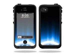 Mightyskins Protective Vinyl Skin Decal Cover for LifeProof iPhone 4 / 4S Case wrap sticker skins Space Flight