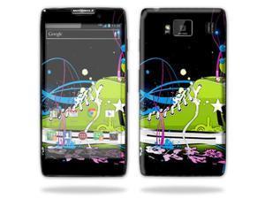 Mightyskins Protective Skin Decal Cover for Motorola Droid Razr Hd & Razr Maxx HD Cell Phone wrap sticker skins Chuck