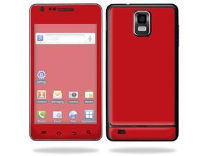 Mightyskins Protective Vinyl Skin Decal Cover for Samsung Infuse 4G Cell Phone wrap sticker skins i997 AT&T - Solid Red