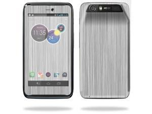 Mightyskins Protective Skin Decal Cover for Motorola Atrix HD Cell Phone AT&T wrap sticker skins Steel