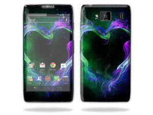 Mightyskins Protective Skin Decal Cover for Motorola Droid Razr Hd & Razr Maxx HD Cell Phone wrap sticker skins Hot Love