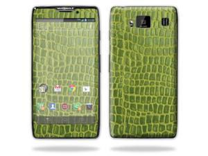 Mightyskins Protective Skin Decal Cover for Motorola Droid Razr Hd & Razr Maxx HD Cell Phone wrap sticker skins Croc Skin